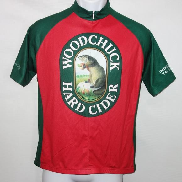 e944e9313 AB Pro Other - Woodchuck Hard Cider Mens L Bike Cycling Jersey